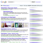 An SEO client of Thoughtfaucet gets to #1 on Google.
